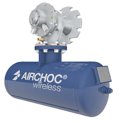 Compressed air cannon - Airchoc Wireless | STANAM INDUSTRIES